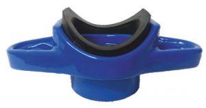Stopa uniwersalna całożeliwna malowana epoksydowo z wyłożoną powłoką gumową AKWA