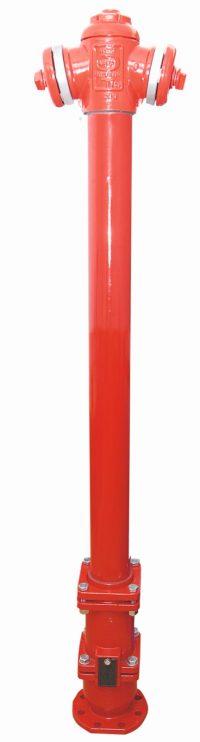 Hydrant nadziemny z podwójnym zamknięciem PN16