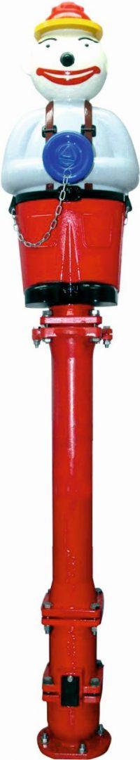 hydrant nadziemny PAWEŁEK zabezpieczenie antykorozyjne plus UV plus filtr antygrafitti. Wykonany z żeliwa sferoidalnego. AKWA