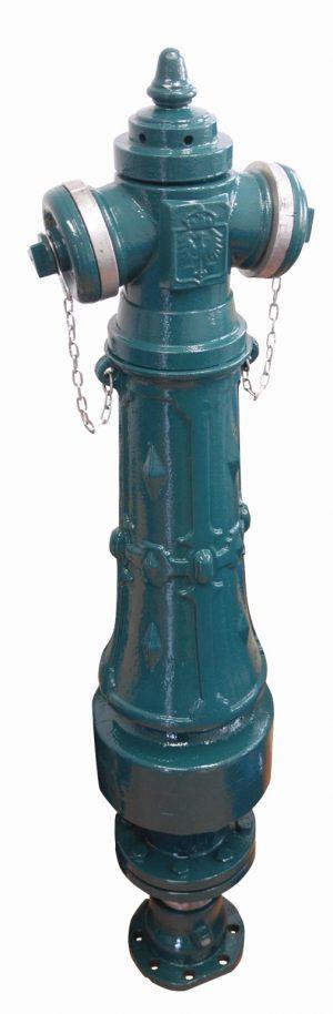 hydrant nadziemny ozdobny RETRO staromiejski w dowolnej kolorystyce.