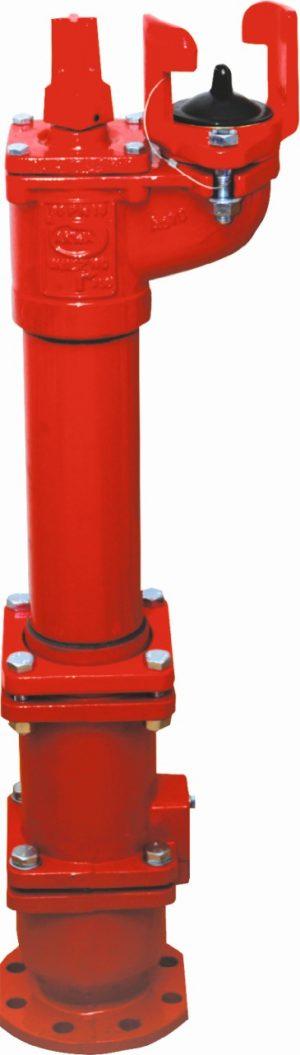 hydrant podziemny z podójnym zamknięciem PN16