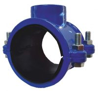 Threaded clamp for drilling