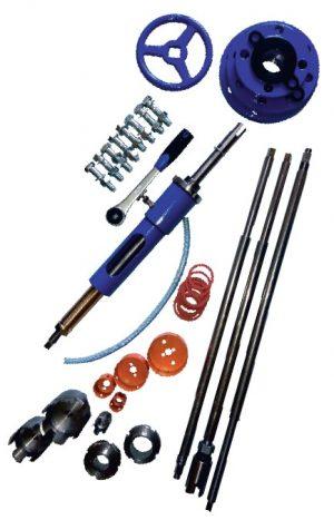Elementy składowe aparatu do nawiercania akwa