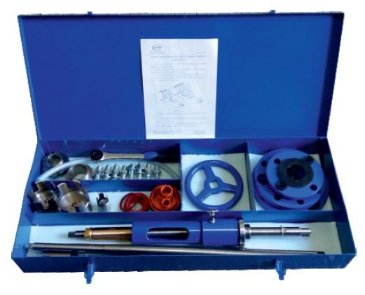 Aparat do nawiercania wersja rozszerzonana do nawiercania poprzez zasuwy gwintowane i kołnierzowe6002