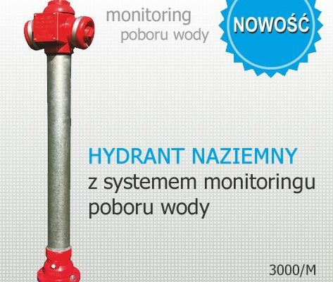 Ground hydrant with monitoring system